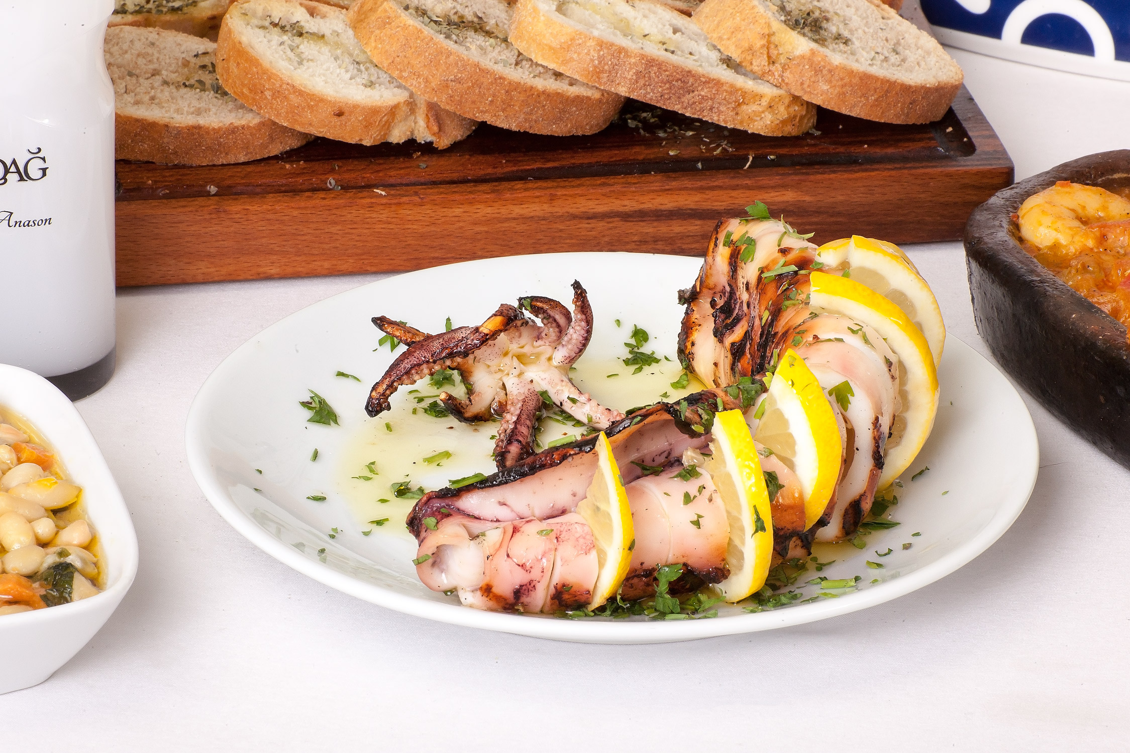 Grilled Calamary